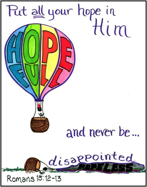 Hope in Him